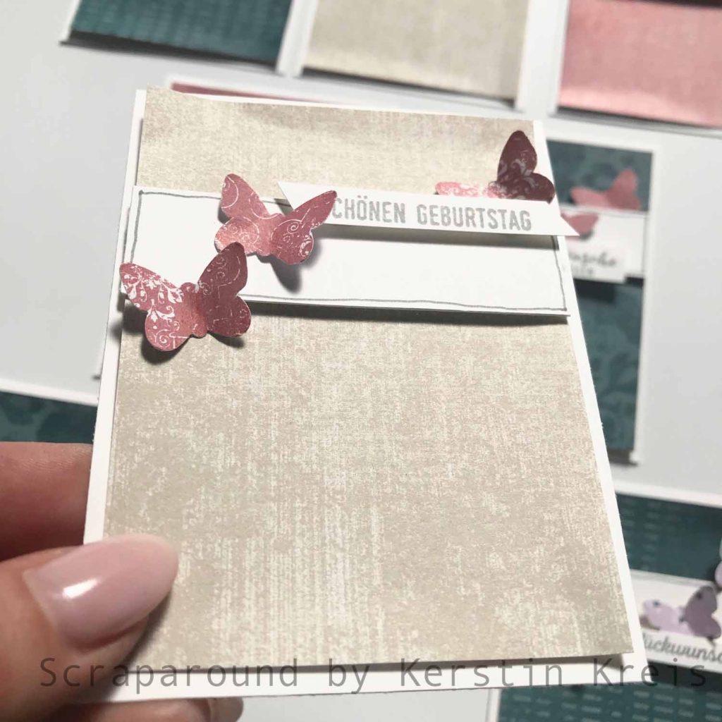 stampinup gdp194 sketch Stempel klitzekleine Grüße designerpapier vintage-flair Detailbild4