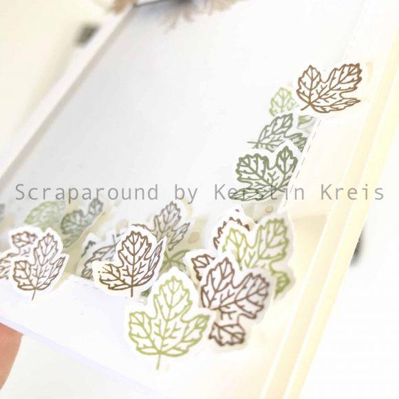 stampinup gdp202 Schüttelkarte Herbst Friedvolle Zweige stanzform Detailbild2