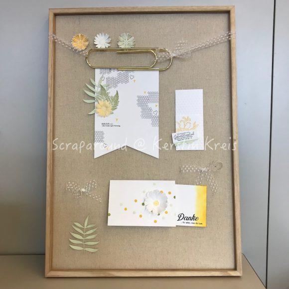 Paper Ink and Friends 2019 ScrapCube Würfel Frühling Moodboard Hochzeit