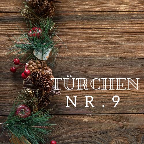 Türchen Nr. 9 – Adventskalender 2019
