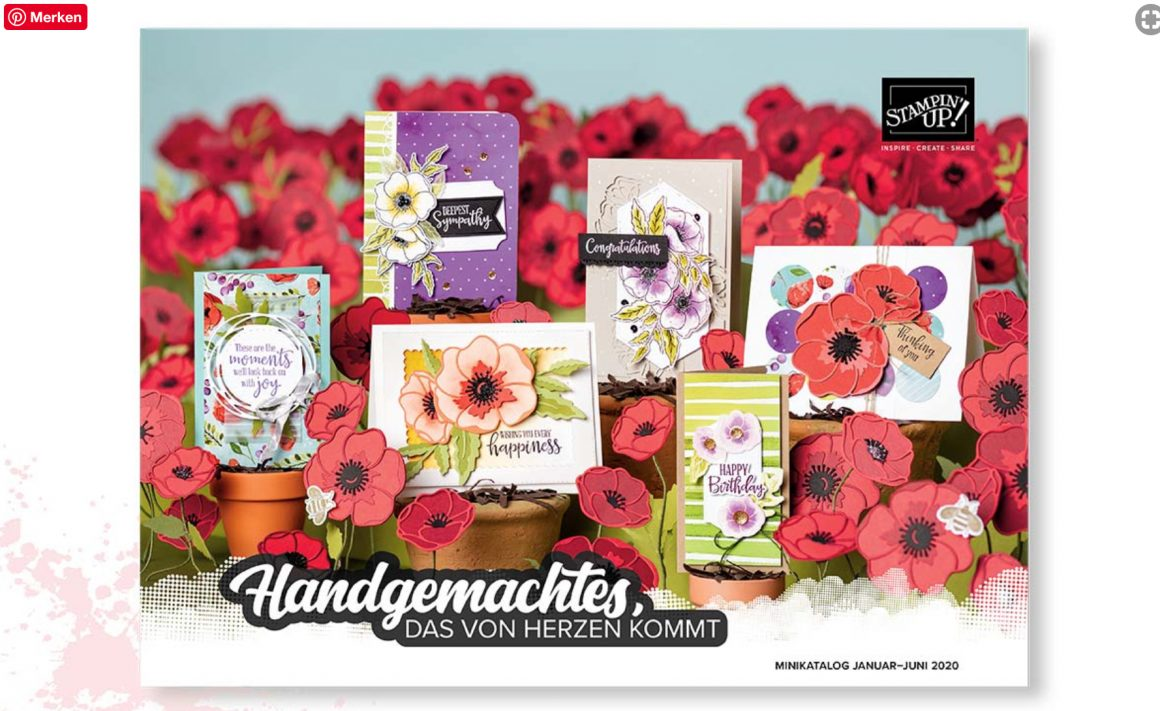 Video zum Stampin´Up! Minikatalog Sommer 2020