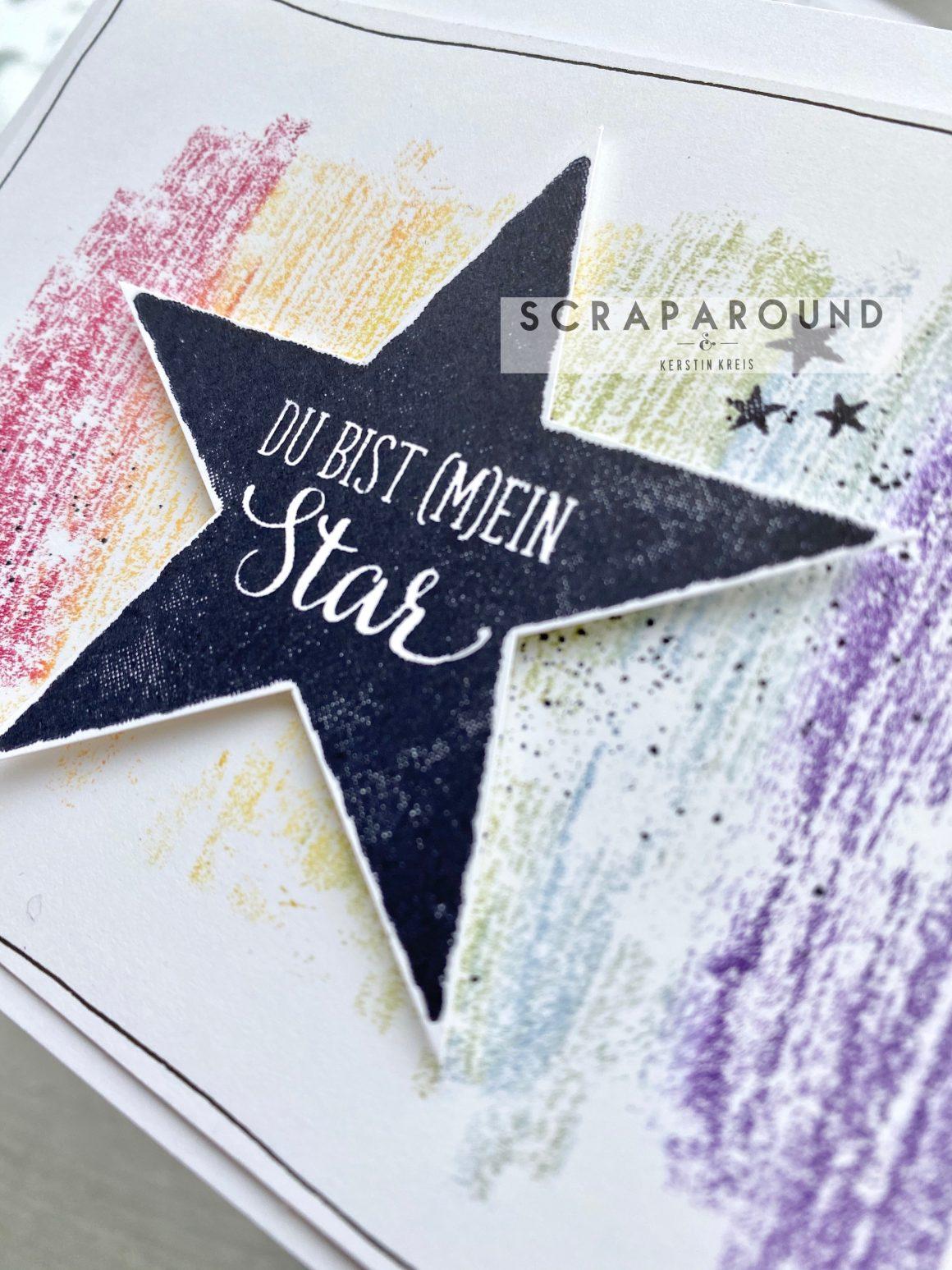 """Karte """"Du bist (m)ein Star"""" – GDP#224 Global Design Projekt"""