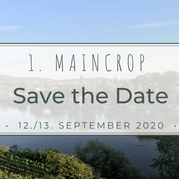 1. MainCrop – Safe the Date!