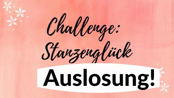 """Auslosung Challenge """"Stanzenglück"""""""