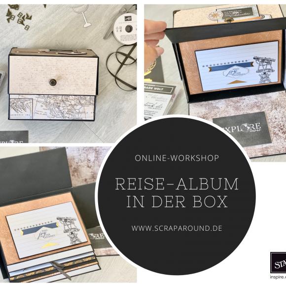 """Online-Workshop """"Reise-Album in der Box"""""""