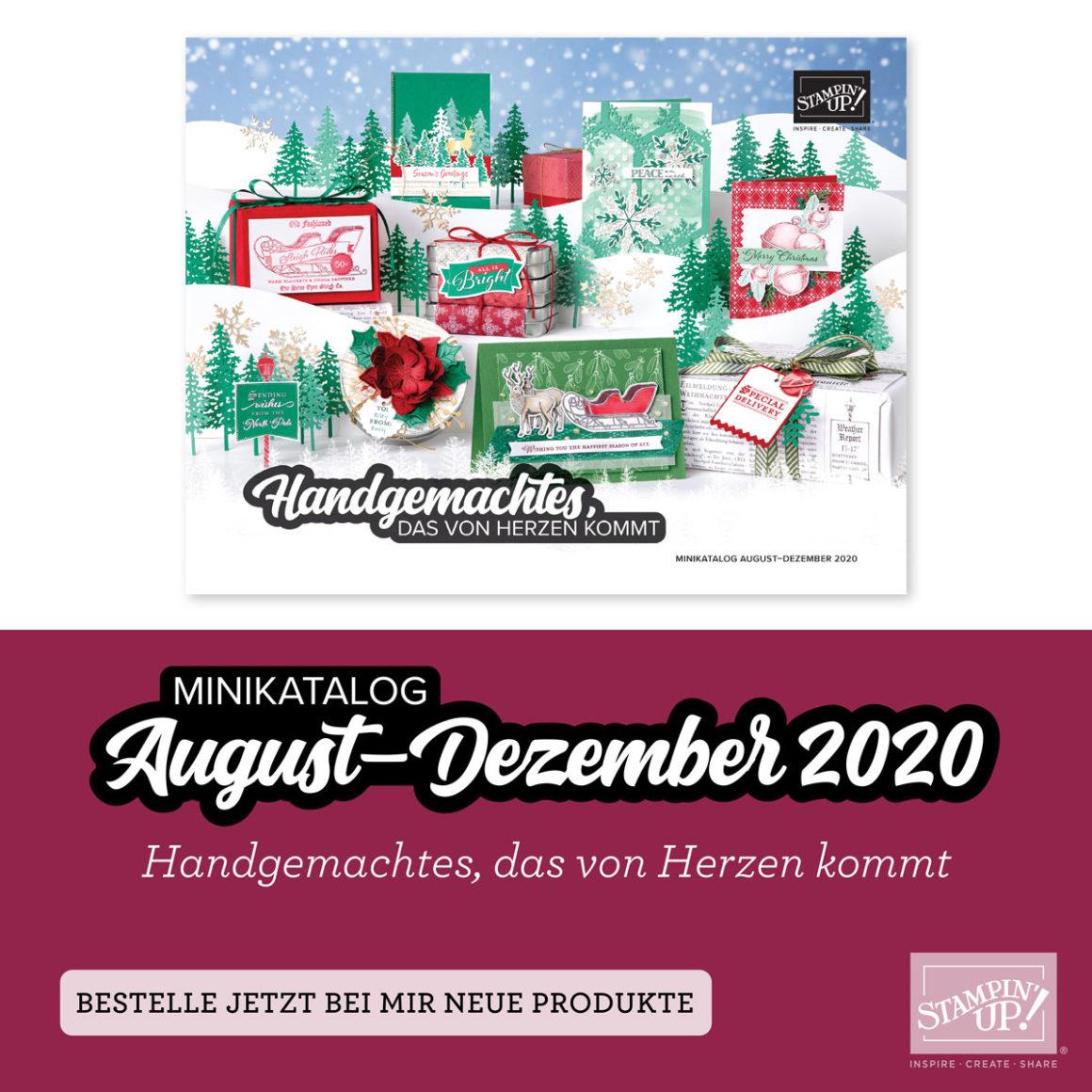 Stampin' Up! Saisonkatalog Herbst/Winter 2020
