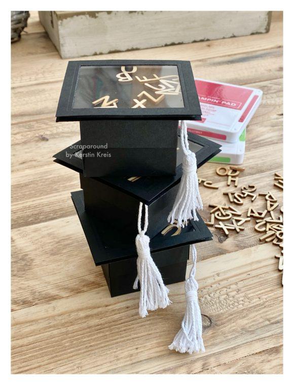 stampinup GDP259 School days Thema Schule Hut Graduation Abschluss Detailbild1