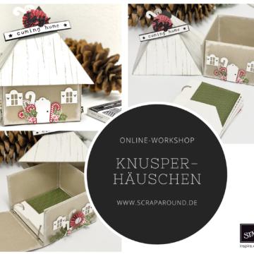 """Online-Workshop """"Knusperhäuschen"""""""