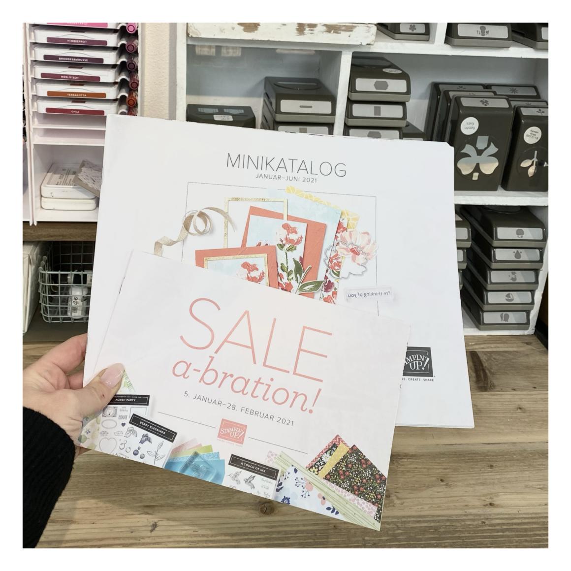 Frühjahr/Sommerkatalog von Stampin´Up! und Sale-a-bration 2021
