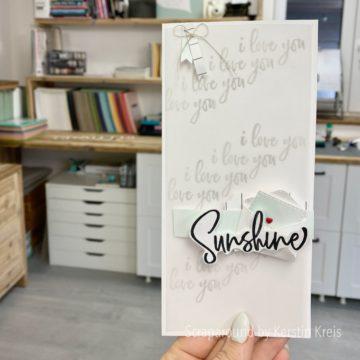 Sunshine – Karte zur GDP Challenge #284